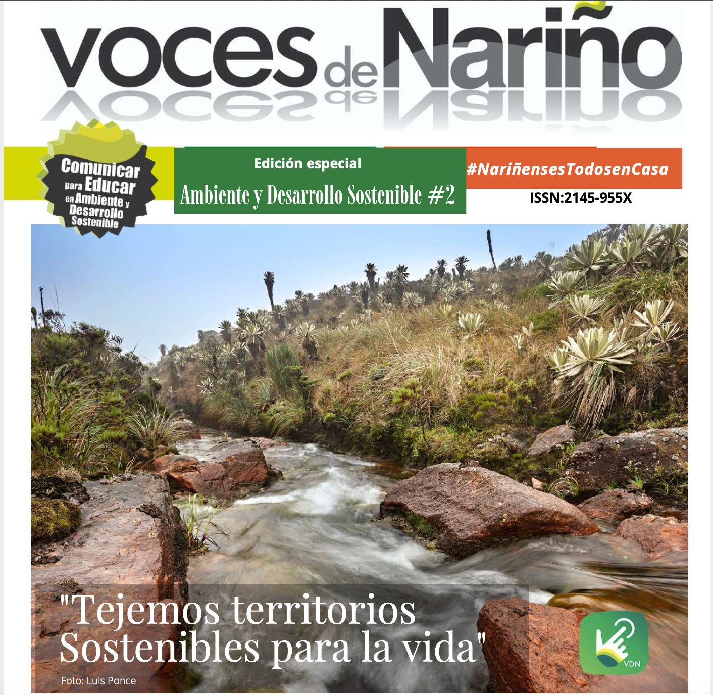 Comunicar para educar en Ambiente y Desarrollo Sostenible – Voces de Nariño
